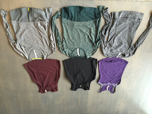 Lululemon size 6 tops - 6 different tops $50 each