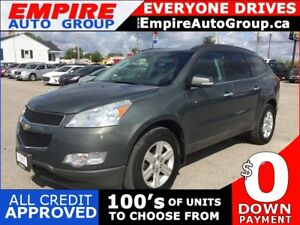 2011 CHEVROLET TRAVERSE LT1 * AWD * REAR CAM * 8 PASS * REAR PAR