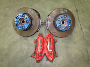 Honda DC5 Type R Acura RSX Front Brembo Brake Calipers Spindles