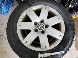 VW rims with Cooper winter tires