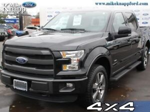 2015 Ford F-150 Lariat  Lariat, Leather Seats