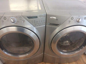 SET LAVEUSE SECHEUSE FRONTAL SAMSUNG A  VENDRE WHIRPOOL