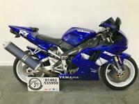 1999 Yamaha YZF R1 YZF1000, Carbon Frame Covers, Tail Tidy, Black Screen