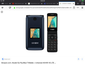 Alcatel go flip cell phone