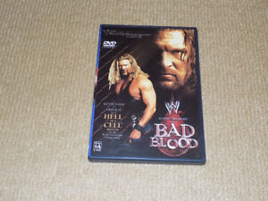 WWE BAD BLOOD DVD, JUNE 2003 PPV HHH VS. NASH HELL IN A CELL