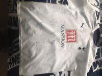 Signed spurs shirt