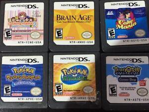 Lot de jeux DS lite / DS lite game bundle