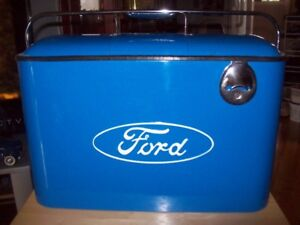 steel ford cooler for sale never used
