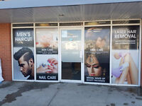 Back drops / Media Wall / Banners / Window Graphics
