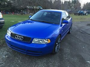 2001 .5 Audi S4 full stage 3 never winter driven!!