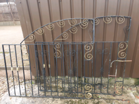 Heavy Steel Gates