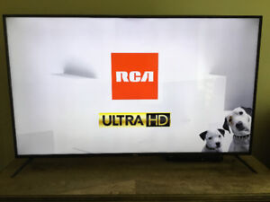 BRAND NEW, PRISTINE QUALITY RCA, 65 INCH, 4K ULTRA HD TELEVISION