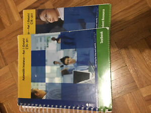 SELLING C14 AUTOMOBILE INSURANCE TEXTBOOK & STUDENT RESOURCE !