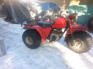 Honda big red trike