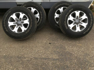 FX4 Tires and Rims
