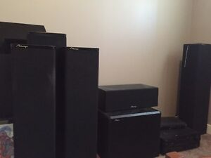 Mirage home theatre sound system
