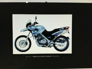 2001. BMW F650 GS Enduro