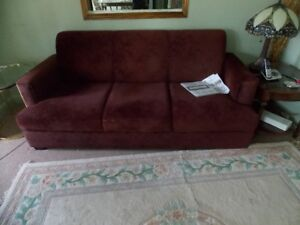 Deep red Couch