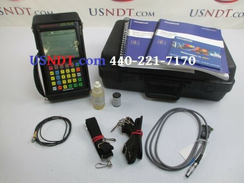 Olympus Panametrics 37DL Plus Thickness Gauge Ultrasonic Flaw Tester NDT GE Gage