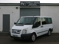 FORD TRANSIT TOURNEO 280 LTD 2.2 110 SWB MINIBUS CREW BAND CAMPER DAY VAN BUS