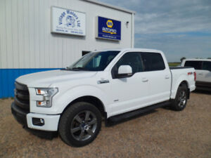 2015 FORD F150 SUPER CREW LARIAT/ 4X4 / 3.5 LT ECO BOOST