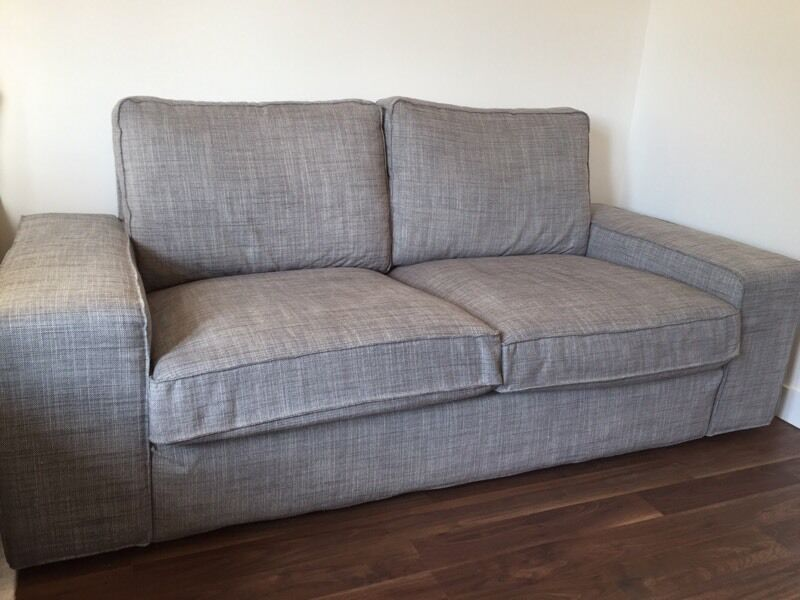 ikea kivik 2 seater sofa isunda grey in southampton hampshire gumtree. Black Bedroom Furniture Sets. Home Design Ideas