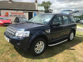 12 LAND ROVER FREELANDER 2.2 TD4 XS 60000 MILES FULLY LOADED VERY CLEAN