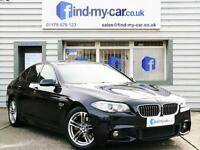 2013 63 BMW 520 2.0D 184 Auto M Sport Saloon Carbon Black