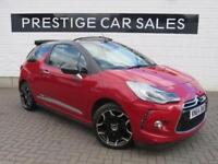 2014 Citroen DS3 1.6 BlueHDi DSport Cabriolet 2dr Diesel red Manual