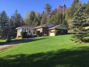 SUPER DEAL - 3 Bedroom House with Mountain Views, 11+ acres +