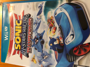 Wii U Sonic and All Stars Racing Transformed game
