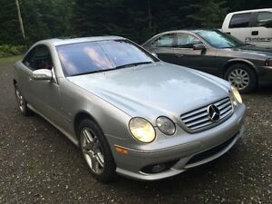 2003 Mercedes-Benz CL-Class CL55 AMG Coupé (2 portes)