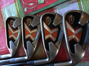 Callaway X-24 Hot 4-SW Iron Set in Good Condition Right Handed