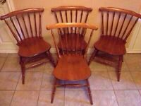 3 vintage ROXTON dining chairs