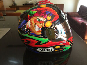 Casque de moto Shoei Troy Lee Design