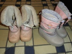 Toddler girls winter boots Kitchener / Waterloo Kitchener Area image 1