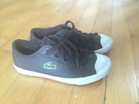 LACOSTE BOY SHOES SIZE 12
