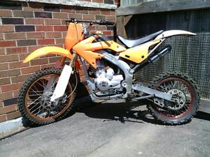 2009 zongshen 250cc dirt bike