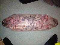 Hand made longboard deck