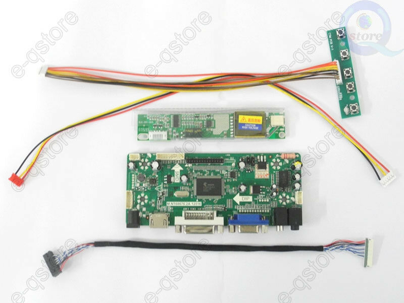 DVI Audio VGA New LCD led Controller Board lvds Kit For  LTM201U1-L01 HDMI