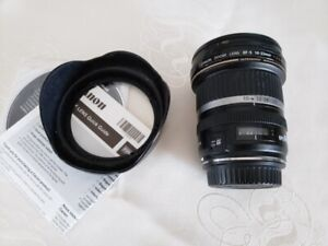 Canon EF-S 10-22mm f/3.5-4.5 USM Wide Angle Zoom, Hood & Filter