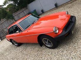MGB GT - Fabulous condition