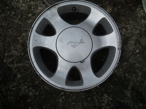 4---15 in Mustang Alloys