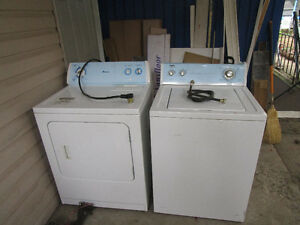 Washer $65  Dryer $65