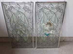 Beautiful Decorative Window Glass Panels For Sale