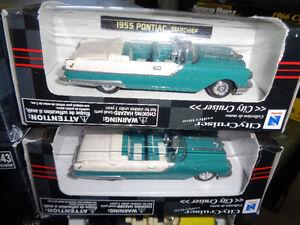 1/43 New Ray 55 & 57 Pontiac 59 Cadillac Chrome Chase Car Oakville / Halton Region Toronto (GTA) image 7