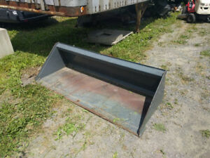 "72"" Skid Steer Bucket"