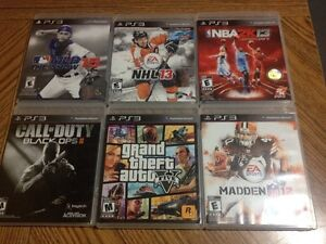 PS3 games for sale: $7 - $20 o.b.o.