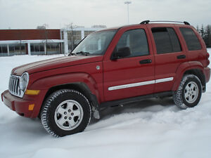 JEEP LIBERTY LIMITED 2006 C R D DIESEL 4X4 AUTOMATIQUE A  VOIR