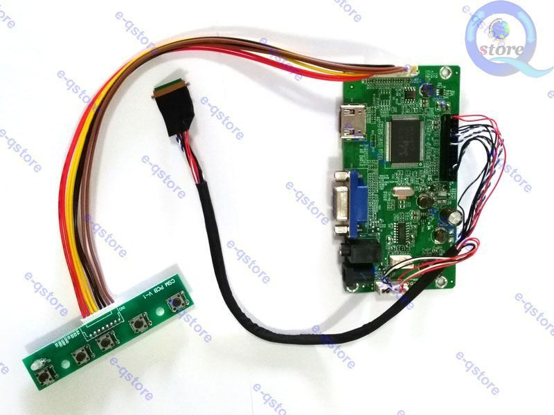 LCD controller board for B116HAN03.1 1920X1080 EDP kit HDMI+DVI+VGA+Audio